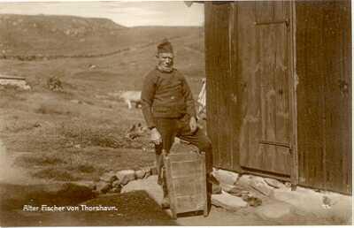 Färöer Thorshavn - Fischer
