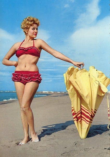 Bikini mit Rueschen